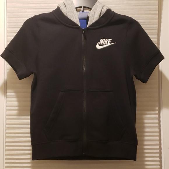 nike hoodie zip front